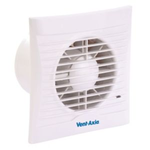 View Vent-Axia White Basic Silhouette Bathroom Extractor Fan details