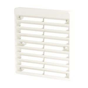 View Manrose White External Vent (W)150mm details