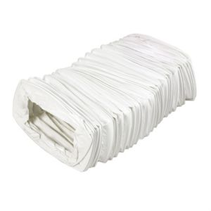 View Manrose White Flexible Duct (H)54mm (W)110mm details