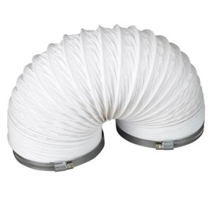 View Manrose White Circular Flex (H)140mm, Pack of 3 details