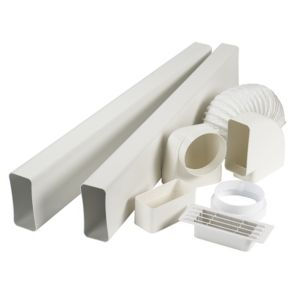 View Manrose V7227 Cooker Hood Flat Channel Vent Kit details
