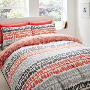 Image of Lotta Jansdotter Follie Patterned Coral Single Bed set