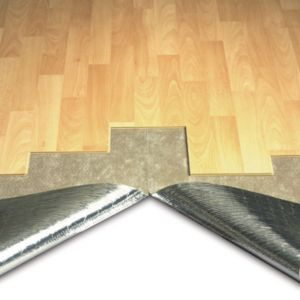 View Duralay Silentwalk 3mm Sponge Rubber with Foil Backing Laminate Floor & Glueless Wood Floor Underlay 7.5m² details