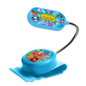 Image of Moshi Monsters Blue Clip-On Bed Light