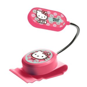 Image of Hello Kitty Pink Clip-On Bed Light