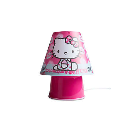 hello kitty hello kitty pink printed desk lamp. Black Bedroom Furniture Sets. Home Design Ideas