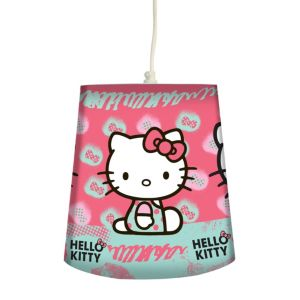 Image of Hello Kitty Pink Printed Hello Kitty Light Shade (D)240mm