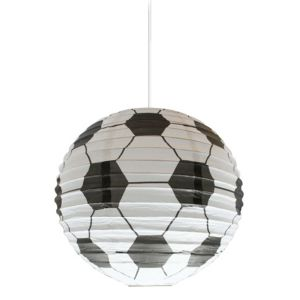 View Colours Black & White Football Light Shade (D)24cm details