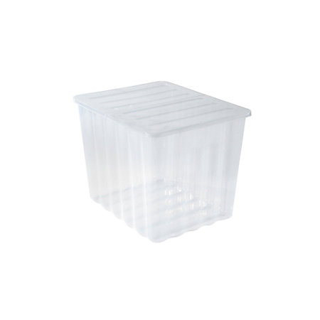 Strata Supa Nova Clear 110l Plastic Storage Box