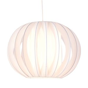 View White Side Pleat Onion Light Shade details