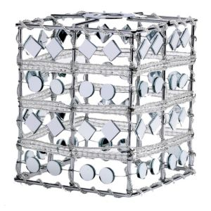 View Mirror Cube Light Shade (D)13cm details