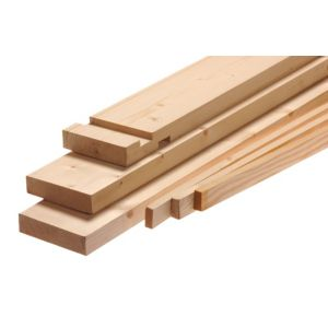 View Plain Timber Unfinished Internal Door Lining Set, (H)2.1mm (W)131mm details