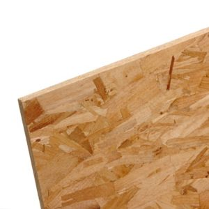 View Compressed Wood Strands OSB3 (L)2400mm (W)1200mm (Th)9mm 1 details