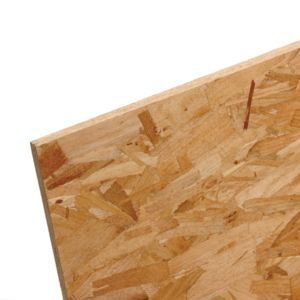 View Compressed Wood Strands OSB3 (L)2440mm (W)1220mm (Th)18mm 1 details
