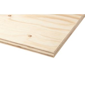 View Spruce Plywood (L)1220mm (W)1220mm (Th)18mm 1 details