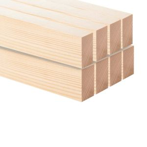 View Softwood Planed Scant Timber (T)43mm (W)70mm (L)2400mm Pack of 8 details