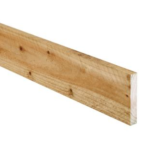 View Treated Timber Sawn (T)19mm (W)100mm (L)2400mm Pack of 10 details