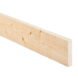 View Softwood Sawn Rough Sawn Timber (T)22mm (W)150mm (L)2400mm Pack of 8 details