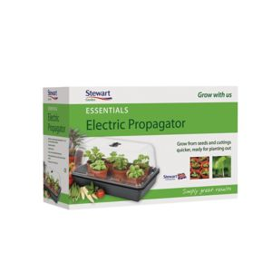 Image of Stewart 38cm Heated propagator (W)245mm (D)245mm