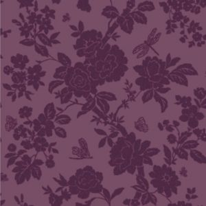 View Nina Floral Purple Wallpaper details