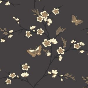 View Spring Blossom Beige, Cream & Grey Wallpaper details