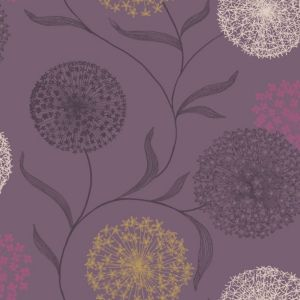 View Holden Starburst Grey & Purple Wallpaper details