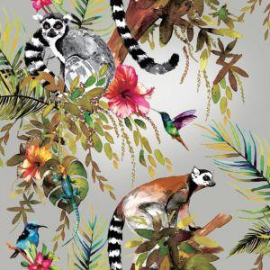 Image of Statement Rainforest Metallic Wallpaper