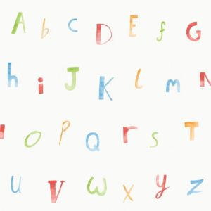 Image of Holden décor Alphabet Wallpaper
