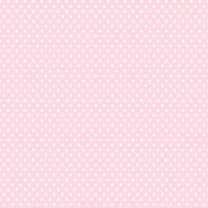 View Polka Dots Pink & White Wallpaper details