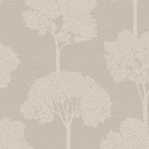 Image of Statement Ambleside Taupe Tree Mica Wallpaper