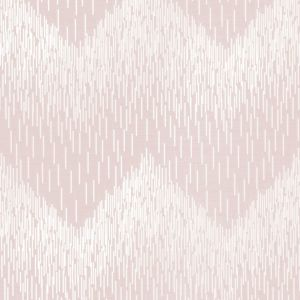 Image of Statement Pink Chevron Wallpaper