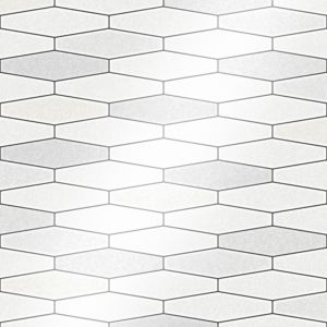 Image of Holden décor Black & white Tile effect Wallpaper