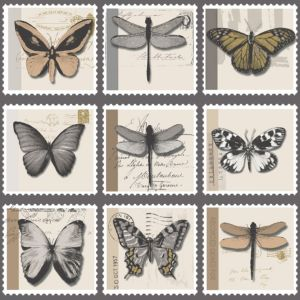 View Farfalla Butterflies Gold Effect & Grey Metallic Effect Wallpaper details