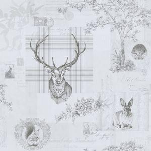 Image of K2 Grey Animals Wallpaper