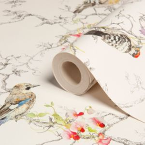 View Ornithology Birds Metallic Effect Wallpaper details