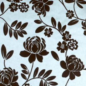 View Kristen Duck Egg Floral Wallpaper details