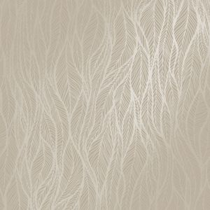 Image of Holden Grey Feather Metallic Wallpaper