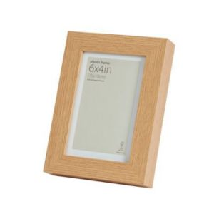 View Oak Effect Wood Picture Frame (H) 20cm x (W)15cm details