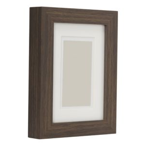 View Dark Wood Effect Wood Picture Frame (H) 22cm x (W)17cm details