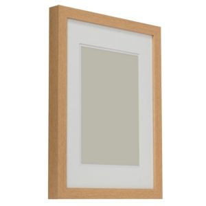 View Oak Effect Wood Picture Frame (H) 44cm x (W)34cm details