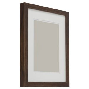View Dark Wood Effect Wood Picture Frame (H) 44cm x (W)34cm details