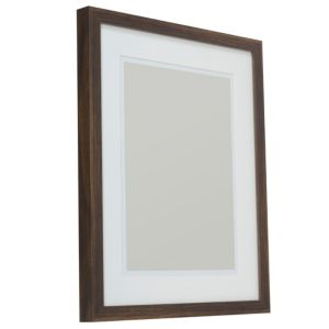 View Dark Wood Effect Wood Picture Frame (H) 54cm x (W)44cm details