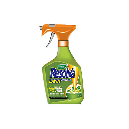 resolva ready to use lawn weed killer spray 1l 0kg. Black Bedroom Furniture Sets. Home Design Ideas