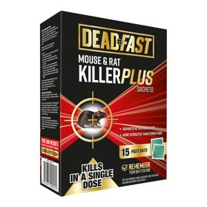 Image of Deadfast Plus Rodenticide sachets 150g