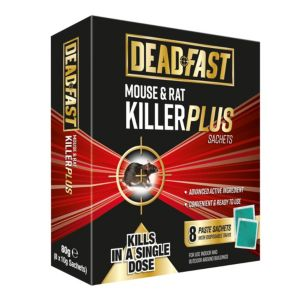 Image of Deadfast Plus Sachet Rodenticide 80g