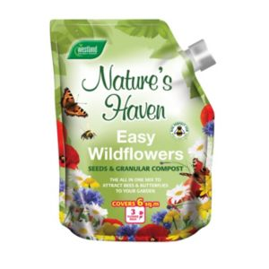 Westland Nature's Haven Easy Wild Flowers Seeds & Granular Compost
