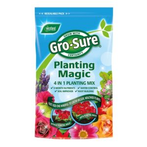 View Westland Gro-Sure Planting Magic 4 In 1 Planting Mix 2kg details