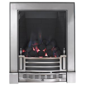 View Focal Point Finsbury Inset Gas Fire Chrome Effect details