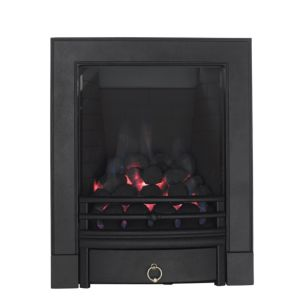 View Focal Point Soho Black Manual Control Inset Gas Fire details