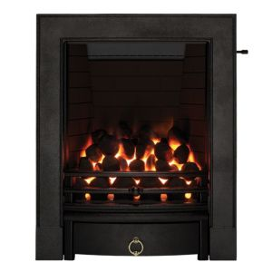 View Focal Point Soho Black Slide Control Inset Gas Fire details